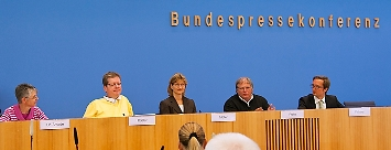 Bundespressekonferenz@Rolf Barthel